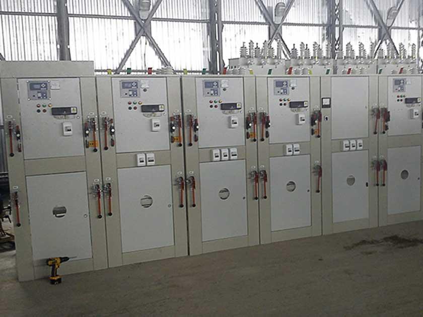 Высоковольтное электрощитовое оборудование 10(6) КВ
